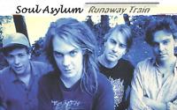 Soul Asylum - Runaway Train RARE 2001 GREATEST HITS COMPILATION CASSETTE TAPE