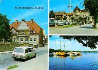AK, Fürstenberg Havel, Kr. Gransee, drei Abb., 1973