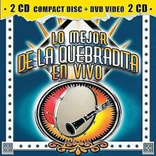 Banda R 15, Banda Movil, Mejor De La Quebradita En Vivo  2CD New Sealed