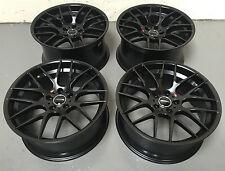 "20"" AVANT GARDE M359 STAGGERED BLACK ALLOY WHEELS 5X120 BMW 5 6 7 series"