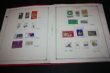 Hong Kong 60+ Stamps on Scott & Other Album Pages