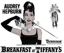 Breakfast at Tiffany's (1961) Audrey Hepburn cult movie poster print 25