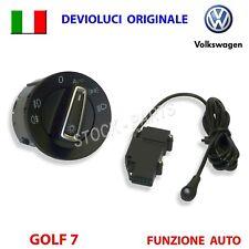 Devioluci ORIGINALE + SENSORE AUTO VW GOLF 7 VII POLO interruttore pulsante luci