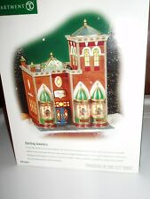 Dept 56 Christmas In The City Sterling Jewelers Nib