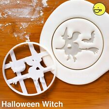 Halloween Witch cookie cutter | trick or treats bonfire night kids party biscuit