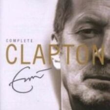 Eric Clapton Complete CD 36 Track 2 Disc Set European Polydor 2007