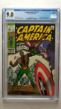 Captain America #117 CGC 9.0 VF/NM   1st Appearance of Falcon