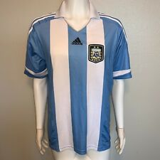 ADIDAS AUTHENTIC ARGENTINA HOME SOCCER JERSEY MEN'S XL