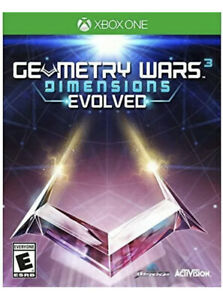 Geometry Wars 3: Dimensions Evolved Xbox One/Series X Kids Game Sealed New