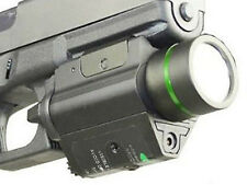 Compact & Subcompact Green Dot Laser & CREE LED FlashLight Sight Torch