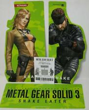 METAL GEAR SOLID 3 POP(Point Of Purchase) B Promo