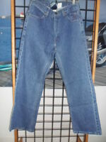 NOS Harley Davidson Mens Original Boot Cut Blue Jean Denim Pants 99026-07VM