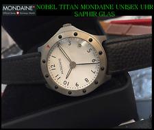 Titanio Mondaine Swiss Made Orologio Unisex Vetro Zaffiro Sognante Bello , Arabo