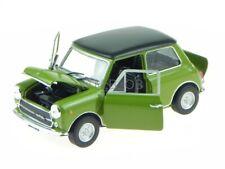 Innocenti Mini Cooper MK3 1300 1972 grün Modellauto Leo 1:24