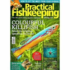 Practical Fishkeeping Magazine May 2018 Issue 5 PFK Mag Aquarium Ponds Fish Pets