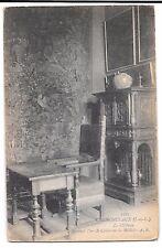 Chenonceaux, Indre et Loire, Le Chateau Interior PPC Unposted, Green Cabinet