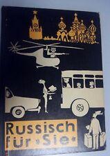 Russisch für Sie, DDR Lehrbuch für Erwachsene, Verlag Enzyklopädie 1963
