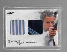 James Bond Archives dual costume card QC14 Mitchell shirt & tie 309/375
