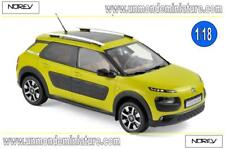 Citroën C4 Cactus 2014 Hello Yellow & Black Airbump  NOREV  - NO 181650 - 1/18