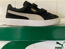 PUMA 'Suede 2 Strap PS' Boys US3C Sneakers School - Fantastic Overall Condition!