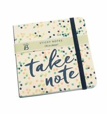 Busy b mini sticky notes pad tear off listes & note pad sac à main taille