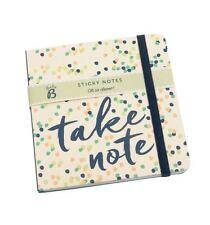 Busy B Mini Sticky Notes Pad Tear Off Lists & Note Pad Handbag Size