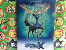 Pokemon Center Japan XY Xerneas 2013 Clear File Card Folder Card   (plush)