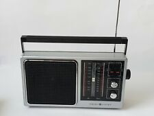 ViTG General Electric Portable AM/FM Radio  Mod7-2857A Battery/Power cord supply