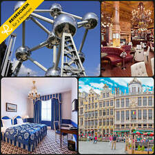 3 Tage 2P Brüssel Belgien 5★ Hotel Zentrum Kurzurlaub Hotelgutschein Reiseschein