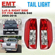 Tail Lights Fit For Nissan Navara D40 2005-2014 ST STR STX RX LH+RH Rear Lamps
