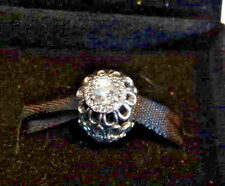 NEW! BLING! AUTHENTIC 925 STER SILVER PANDORA CHARM FLORAL BRILLIANCE #791260CZ