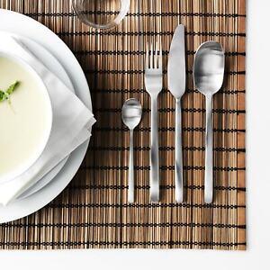 IKEA DATA 24-piece stainless steel modern clean design cutlery set 604.530.22