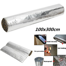 "1x3m 118""x39"" Sound Deadener Car Heat Shield Insulation Deadening Material Mat"