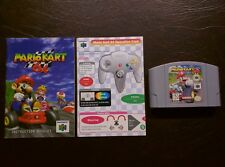 Mario Kart 64 (Nintendo 64, 1997) N64 Tested Working w Manual Very Nice + Bonus!