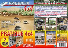 Lot 2 DVD Pratiquer le 4x4  - Pratique 4x4 tout terrain - Sport Loisirs