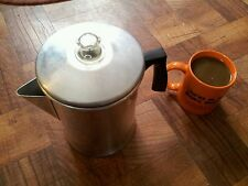 Mirro 9 Cup Coffee Maker Camping Aluminum