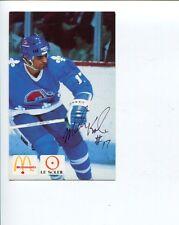 Mark Kumpel Quebec Nordiques Detroit Red Wings Winnipeg Signed Autograph Photo
