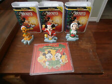 Disney's Holiday Sing Along CD & Mickey's Once Upon a Christmas Micky Minnie