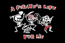 PIRATE FLAG a pirates life for me JOLLY ROGER 5X3 FEET