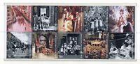 S3174) UK Great Britain 2003 MNH Golden Jubilee 10v