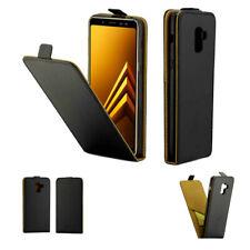 Black Vertical Flip PU Leather Business Case Wallet Cover For LG G4 G3 Q7 Q6 LV5