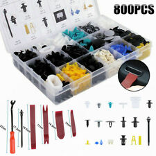 Car Body Retainer Clip 800Pcs Car Trim Clips Plastic Fastener Set w/Remover Tool