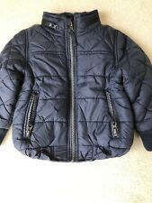 M&S Boys Coat With Zip Pockets And Concealed Hood 18-24mths