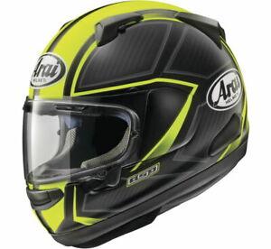 ARAI Quantum-X Spine Helmet Fluorescent Yellow 2XL