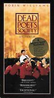 Dead Poets Society (VHS) Robin Williams