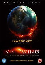 KNOWING - DVD - REGION 2 UK