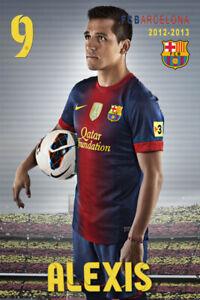 Alexis Sánchez  Barcelona schoenes     Postkarte