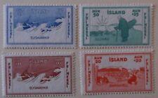 Iceland Stamp B1-4 MNH Cat $18.00