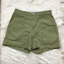 Patagonia Women's Shorts Sz 10 Canvas Cotton High Rise