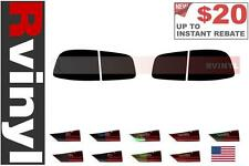 Rtint Tail Light Tint Precut Smoked Film Covers for Volkswagen Touareg 2004-2007